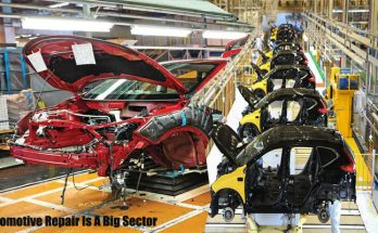 Automotive Repair Is A Big Sector
